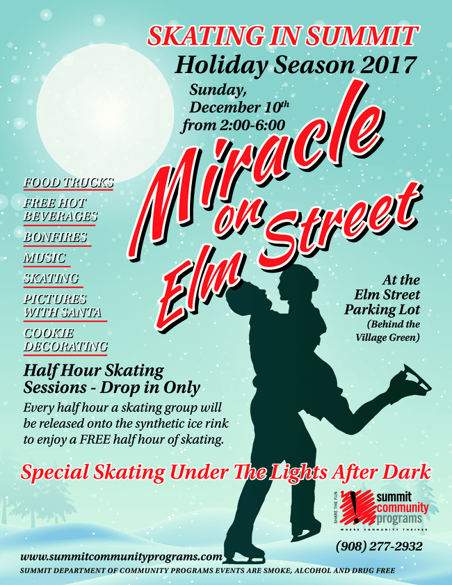 Miracle on Elm flyer 2017a