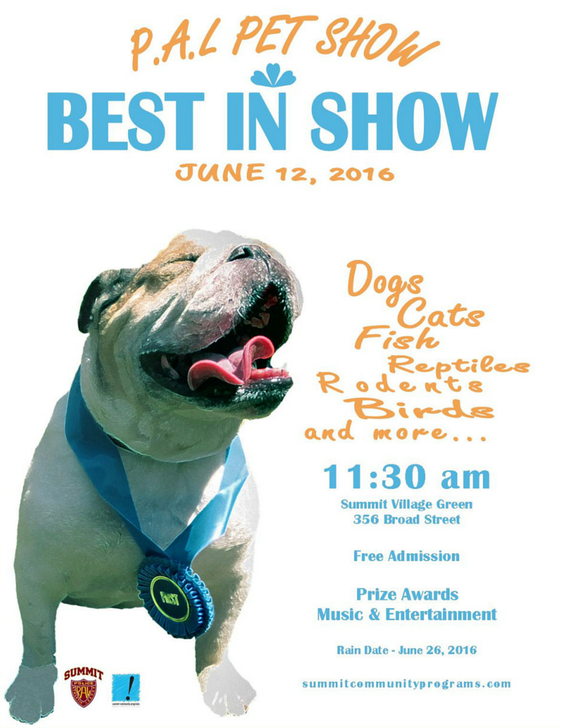 PAL Pet Show flyer