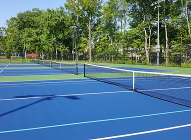 Tatlock Tennis courts now open for play